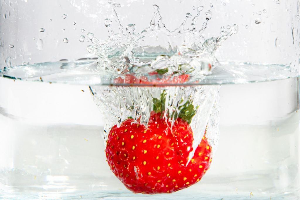 Erdbeere - Splash
